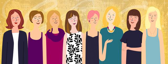 Image of the advocates' digital avatars.