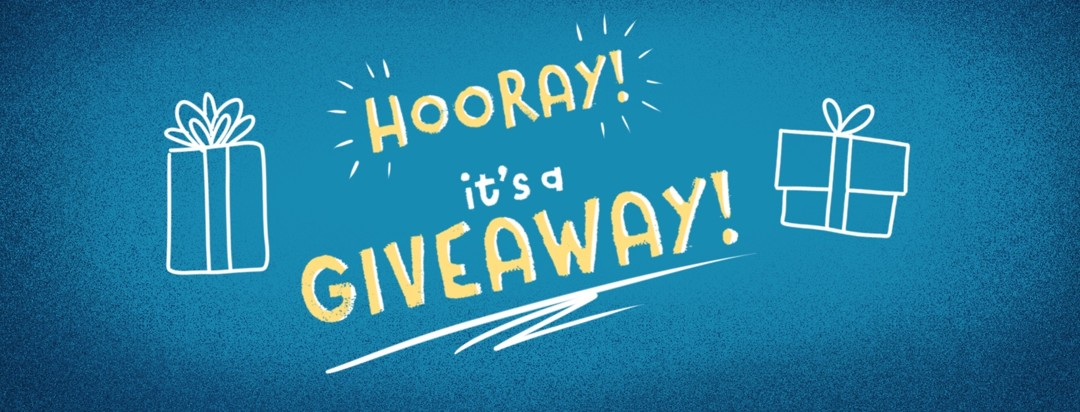 Hooray! It's a Giveaway! With gift boxes