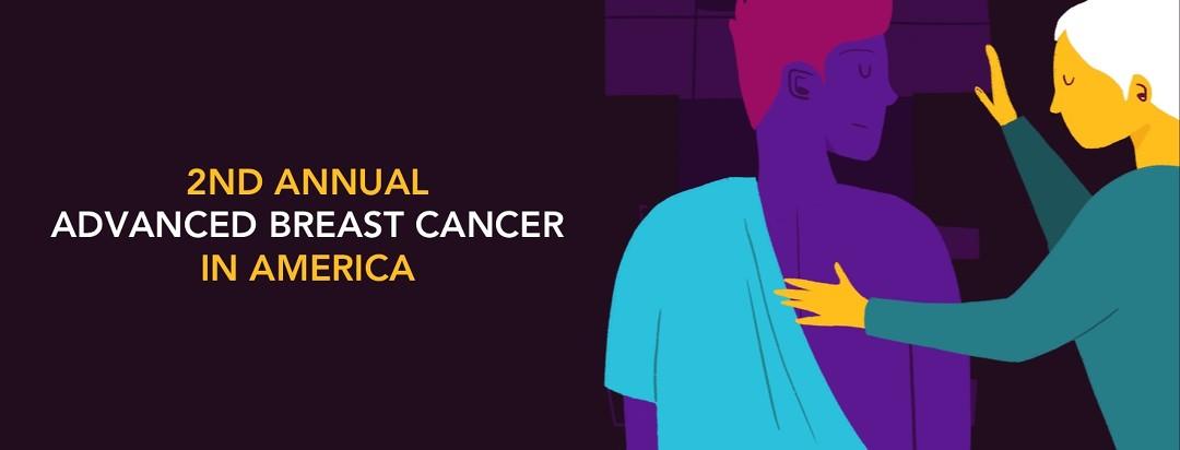 2nd Annual Advanced Breast Cancer In America, a person receiving a mammogram