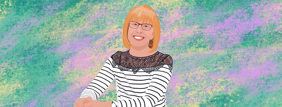 A portrait of advocate Anne Jacobs