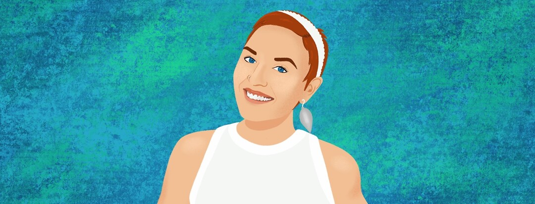 Portrait of community member Cait Kelley