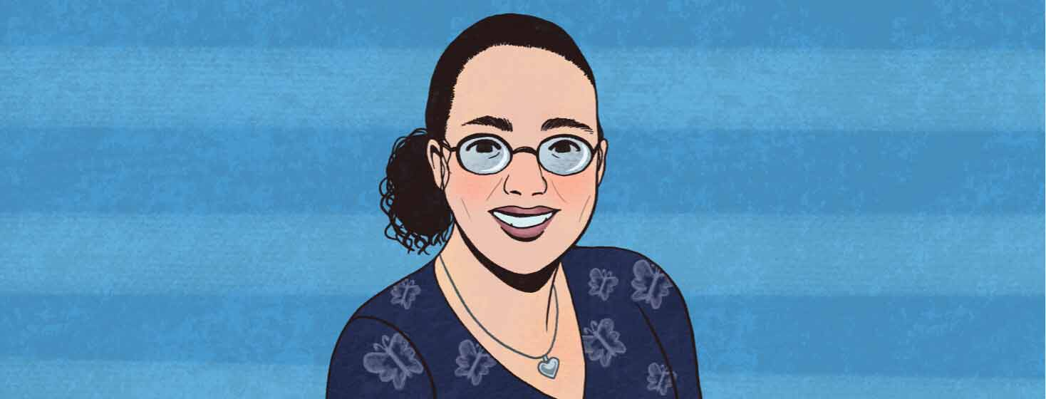 aBC community member portrait. Mandy Reed